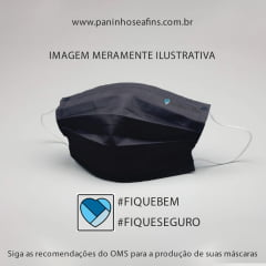 100% ALGODÃO AZUL MARINHO LISO - TRICOLINE - 50cm X 150cm