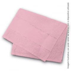 Toalha Lavabo Rosa - Estilotex - 30cmx50cm